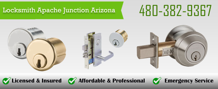 Locksmith Apache Junction Arizona banner