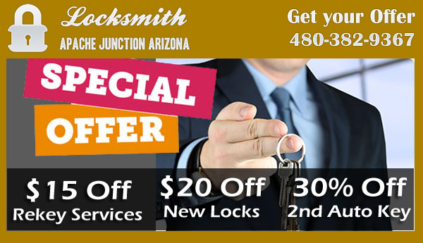 Locksmith Apache Junction Arizona Coupon